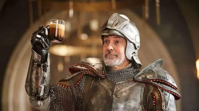Actual footage of Cn. Helivius Sabinus Aedile enjoying a coffee after being elected to office